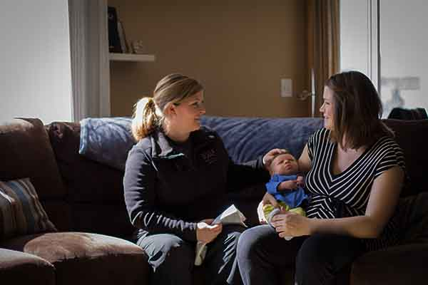 Des Moines Iowa Midwest Postpartum Doula Trainings with Katie Nyberg